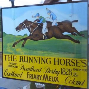 Running Horses, Nr. Dorking